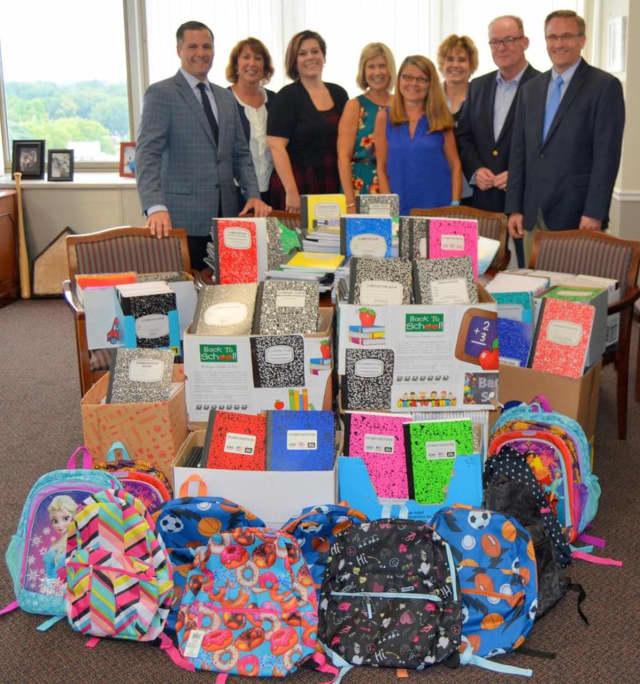A group effort across Dutchess County collected school supplies for needy Dutchess schoolchildren.