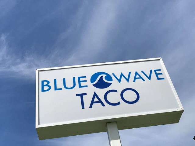 Blue Wave Taco in Darien.