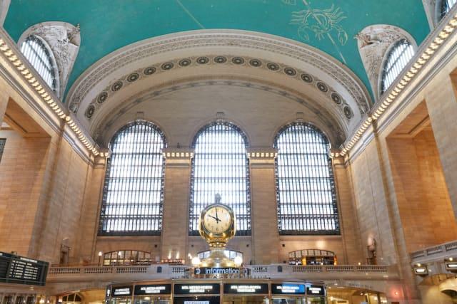 Grand Central's main concourse. Courtesy Grand Central Terminal.