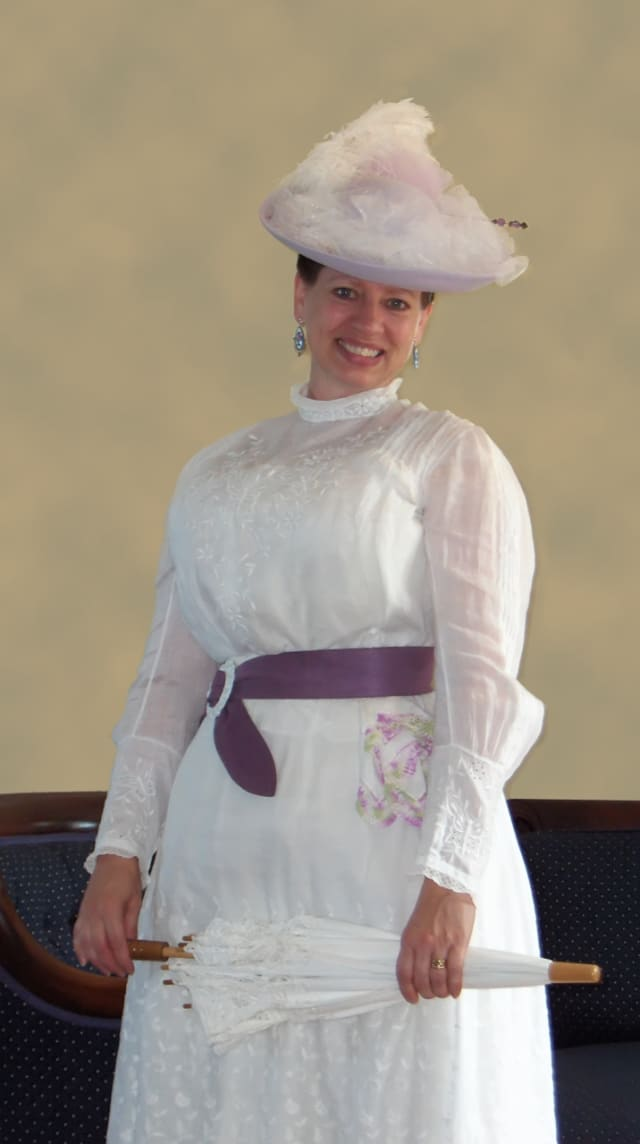 The Danbury Museum and Historical Society will present a Living History Luncheon on Saturday, March 19.
