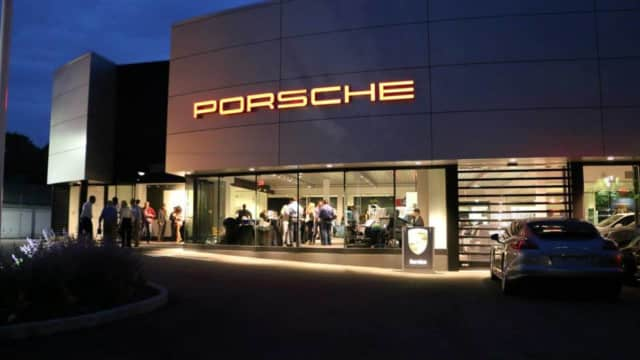 Porsche of Larchmont has been targeted by car thieves twice this year.