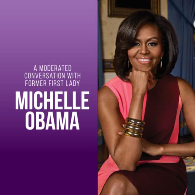 Mkichelle Obama is coming to the Prudential Center in Newark in November