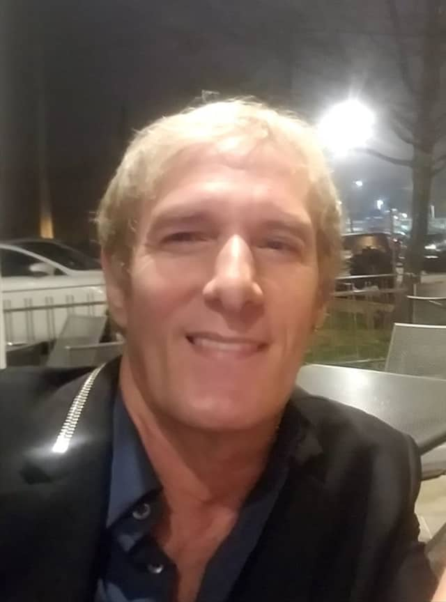 Michael Bolton at 55 Wine Bar & Wood Grille in Fairfield.