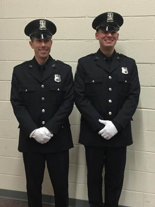 The Clarkstown Police Department has welcomed Tom Rolston and Ryan Fay to the force.