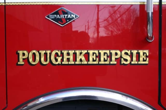 Poughkeepsie authorities are investigating a suspicious fire late Thursday in an apartment on Franklin Street.