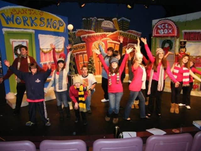 A previous performance of the Christmas Spectacular at Rhino Theatre in Pompton Lakes.