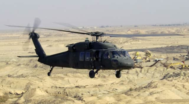 Sikorsky will refurbish Black Hawk helicopters for the Afghan military.