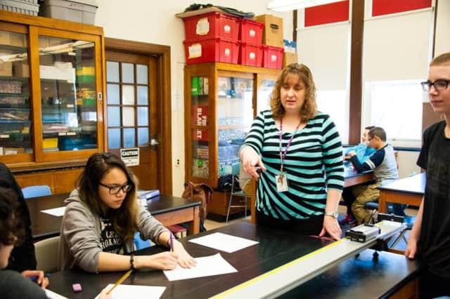 Science teacher Kimberly Agosta.