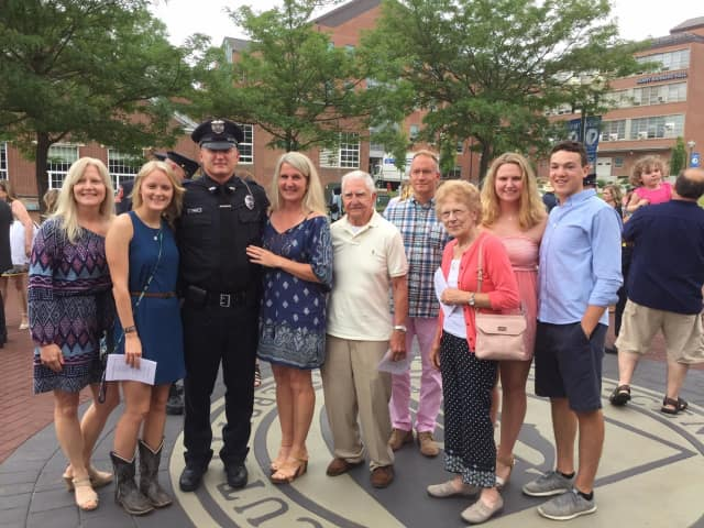 Danbury High Grad Graduates From Police Academy, Joins