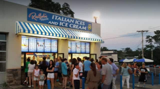Ralph's Italian Ices and Ice Cream on Boston Post Road in Mamaroneck.