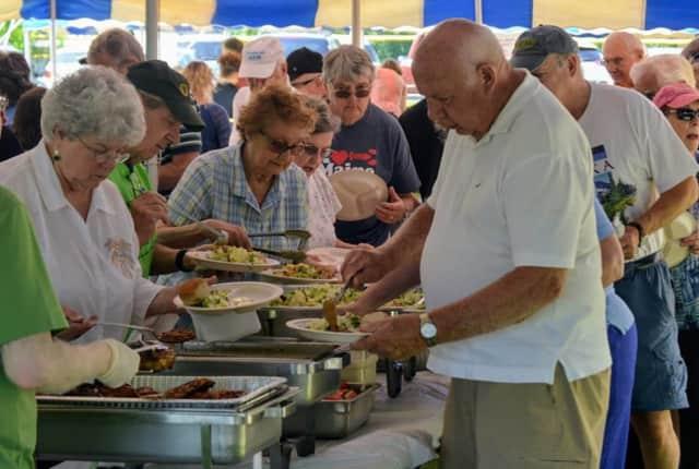 Dutchess County seniors enjoy a summertime picnic.