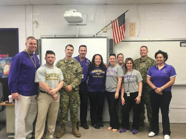 U.S. Army and Garfield education officials.