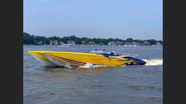 Corey Molinari posted this photo of a boat to his Facebook page.