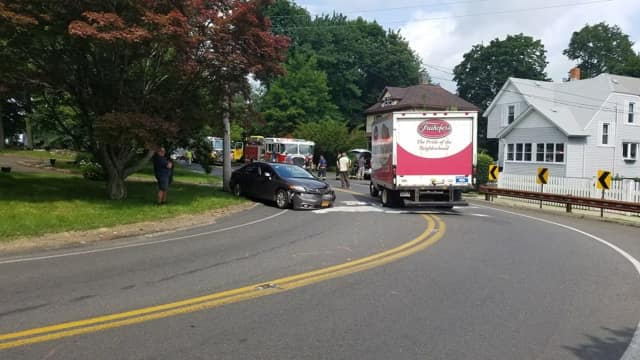 Old Middletown Road reopens following a fuel spill.