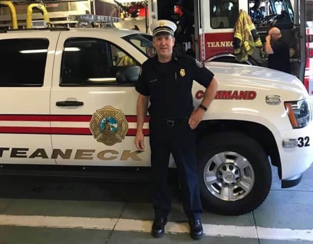 Rick Paratore is retiring from the Teaneck Fire Department.