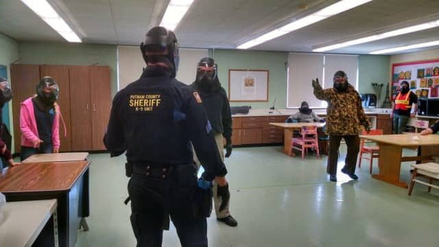 The East Fishkill Police Department concluded its active shooter training this week.