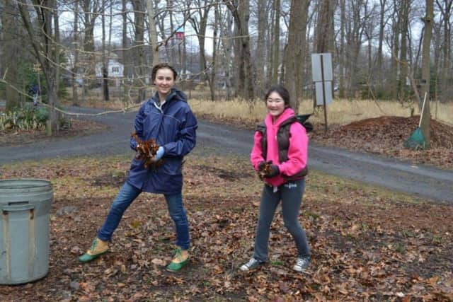 Volunteers at last year's spring clean up. On Sunday, Oct. 18, the Thielke Arboretum, at 460 Doremus Ave, will hold this year's annual Fall Festival from 1:30 to 4:30 p.m.
