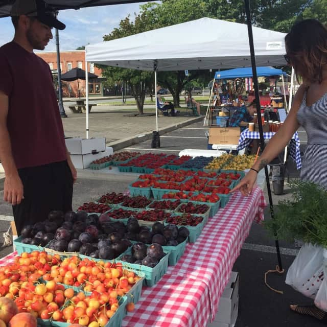The Port Jervis Farmers Market is open on Saturdays.
