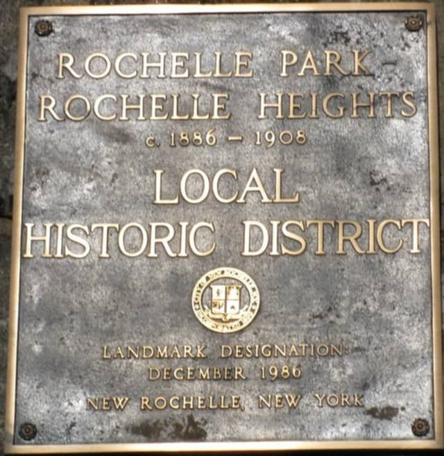 Racist stickers posted in the Rochelle Heights neighborhood in New Rochelle have caused concern.