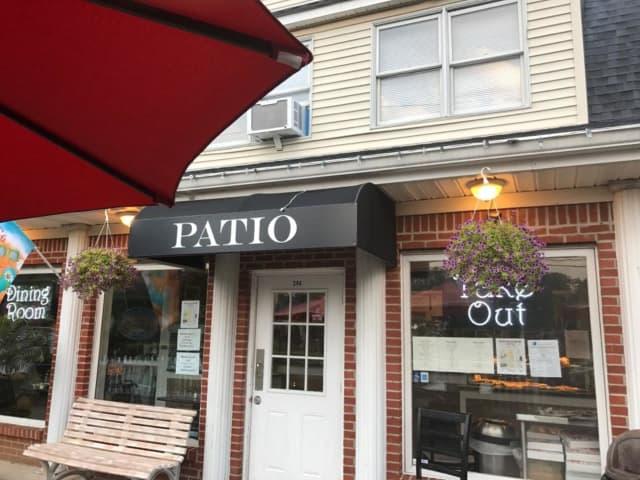 Patio Pizza in Saint James.
