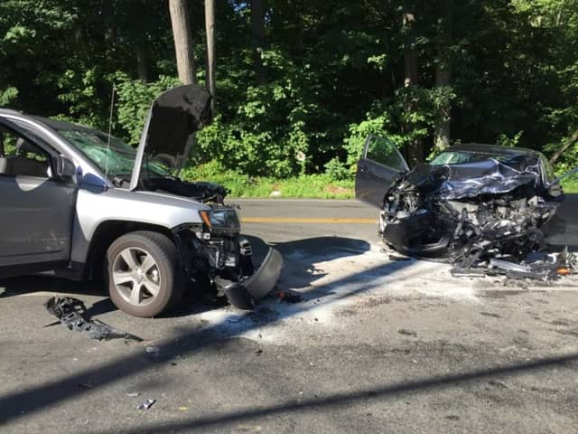 A drunk driver injured five, including himself when he slammed head-on into another vehicle in Pearl River.