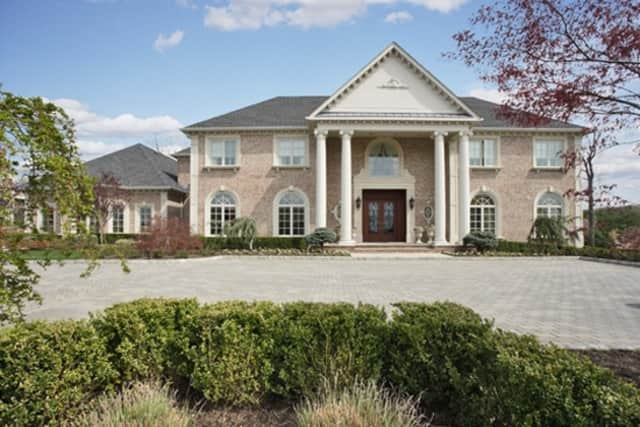The home at 196 Vaccaro Drive, Cresskill is available for $9.588 million.