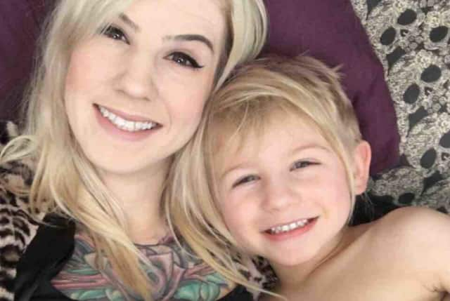 Friends have started a GoFundMe to help 4-year-old Cayden, whose mother, Jackie Schulz, died in a motorcycle crash on Sunday evening.