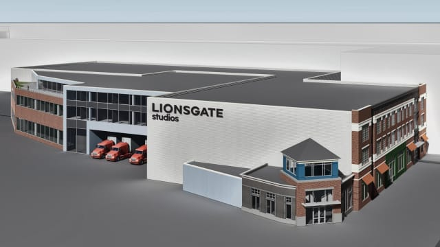 Lionsgate is planning to develop a huge new production studio in Yonkers.