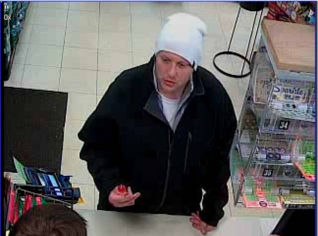 Know him? Police are asking for help identifying the person pictured who was allegedly involved in a robbery.