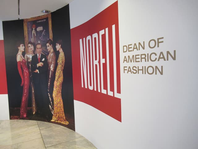 """""""Norell: Dean of American Fashion"""" has now opened at The Museum at FIT in Manhattan. Photograph by Mary Shustack."""
