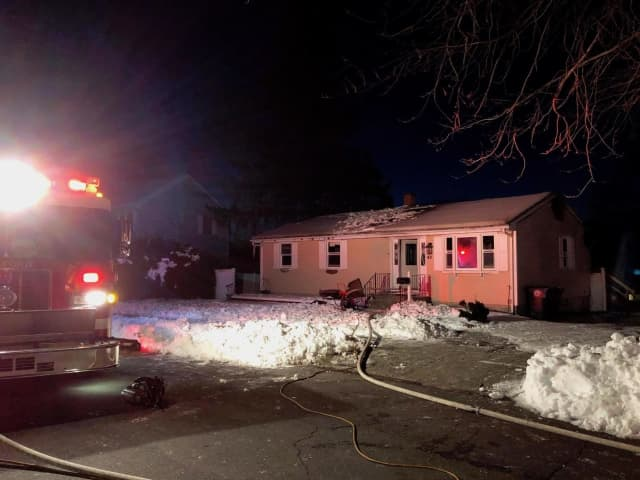 Milford firefighters responded to a fire on Windsong Lane.