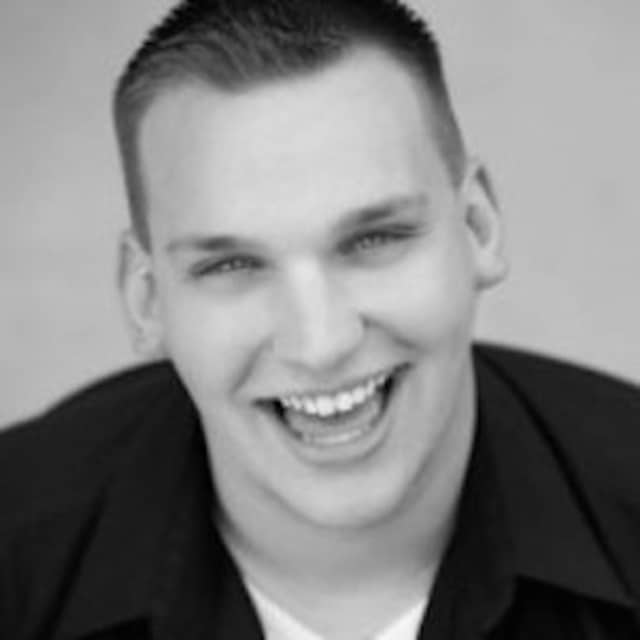Justin Zenchuk plays the starring role of Edna Turnblad in a production of 'Hairspray' at the Center Stage Theatre of Shelton.