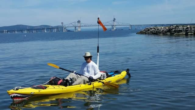 Larry Jensen is kayaking from Lake Champlain to Key West.
