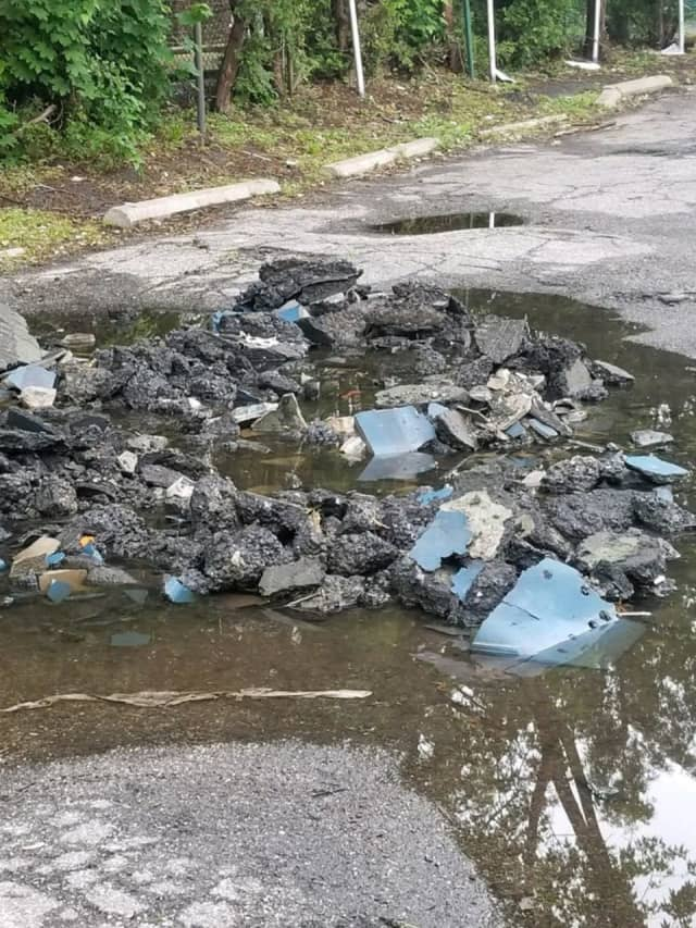 A Mount Vernon man was arrested for illegal dumping in the city.