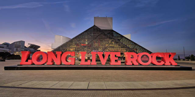 """""""Long Live Rock and Roll"""" at the Rock & Roll Hall of Fame. Photographs courtesy This is Cleveland."""