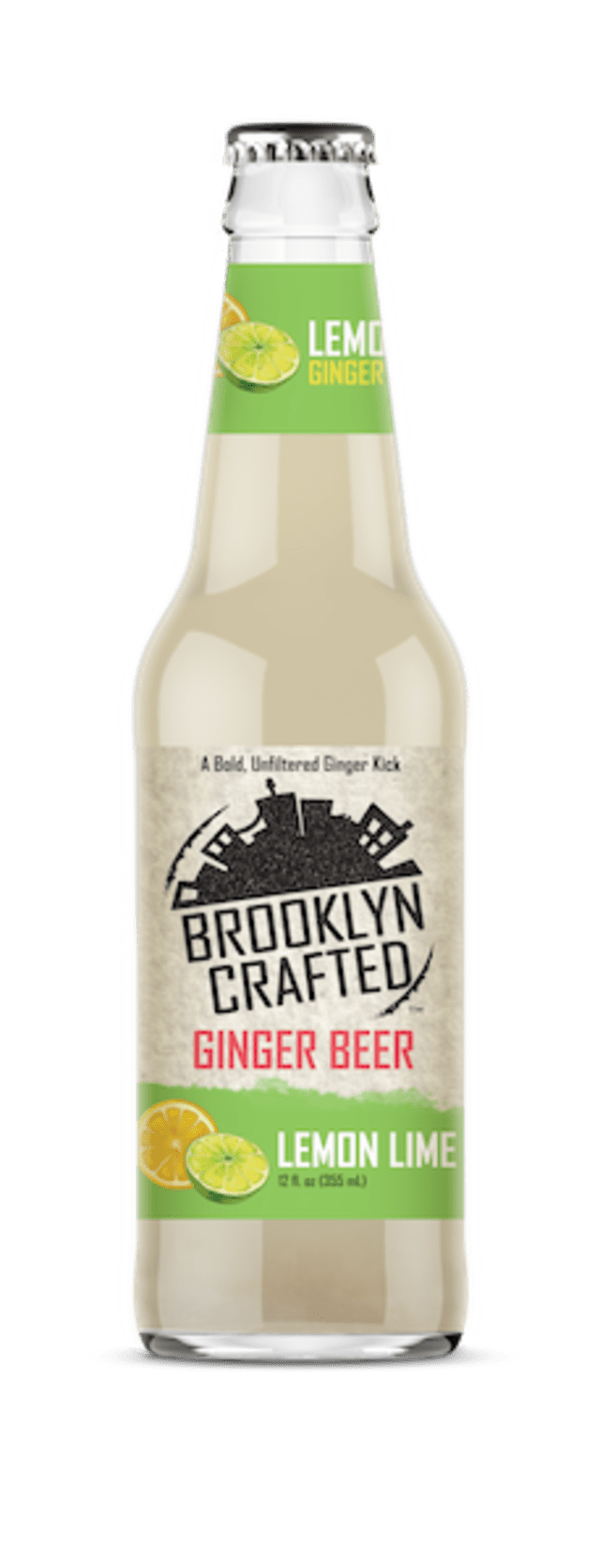 Lemon Lime is one of several flavors of Brooklyn Crafted ginger beer. Courtesy Brooklyn Crafted.