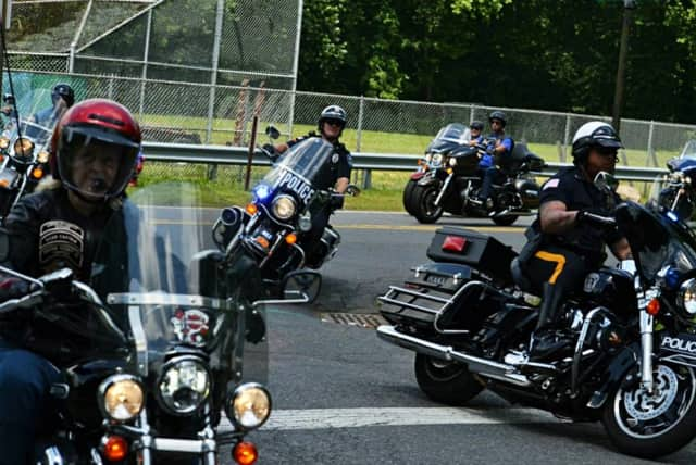 It's now the third year of the Warriors Run. Here are some of the 2014 riders.