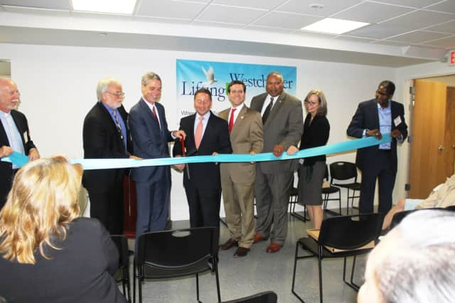 In a special ceremony proclaiming the inaugural Westchester County Homeless Awareness Day, Lifting Up Westchester revealed the completely renovated Open Arms Men's Shelter.