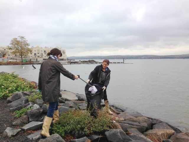 Volunteers for Keep Rockland Beautiful gathered last fall throughout Rockland County to pick up trash and debris along streets and waterways in an effort to keep water clean.