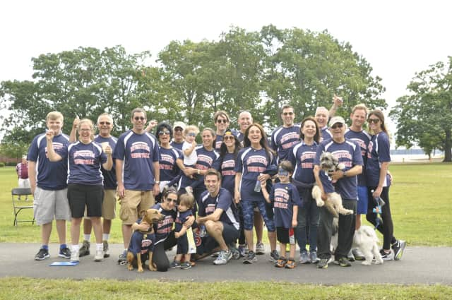 This is on of the teams from last year's VisionWalk.