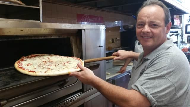 Co-owner Mike D'Angelo of Bruno's Pizza & Restaurant.