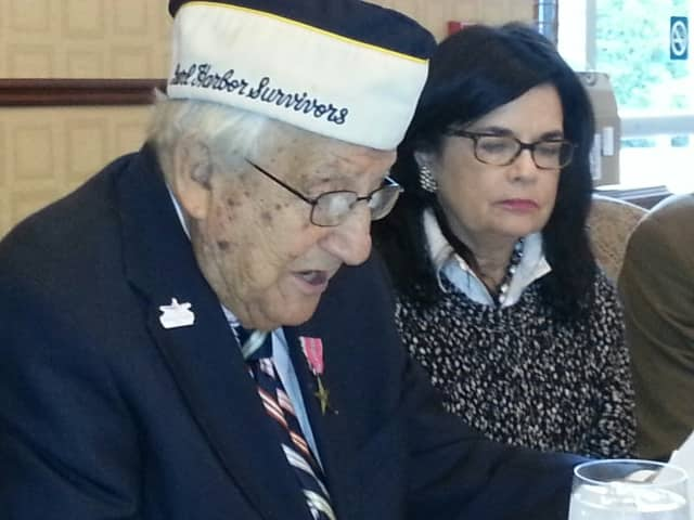 The Rotary Club of the Tarrytowns celebrated Veterans Day with special guest speaker, Chick Galella, who attended the club's weekly meeting to recognize Veterans Day and all who have served the country.