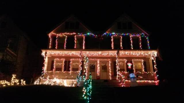 The Peekskill home of Alicia Morgan.