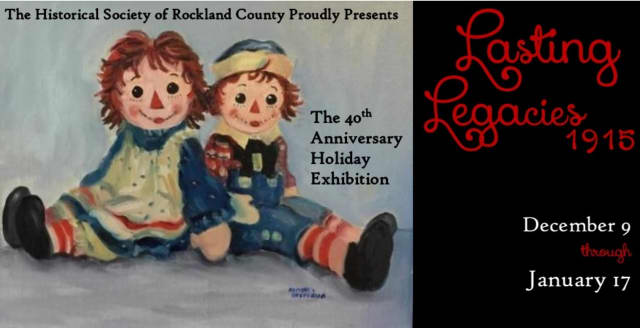 """Raggedy Ann is part of """"Lasting Legacies 1915: The 40th Annual Holiday Exhibition."""""""