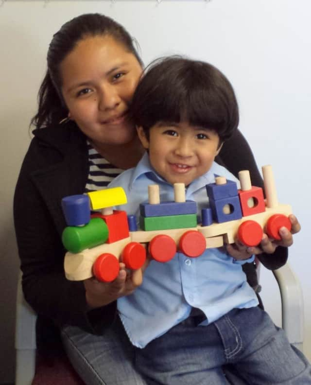 Yoselin and Jayden participate in programs offered by Leake & Watts.