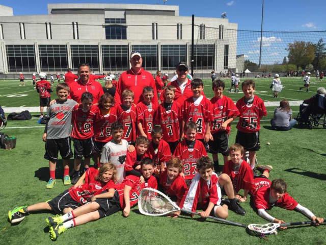 a 2015 Glen Rock boys lacrosse team