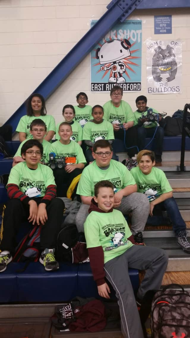 A.S. Faust School in East Rutherford participated in the South Bergen Jointure Commission's VEX IQ Bank Shot Robotics Competition.