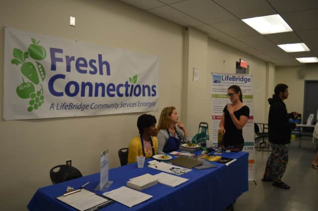 LifeBridge of Bridgeport launched its new Fresh Connections program on Wednesday.