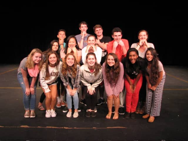"The New Canaan High School Theatre department kicks off the year with the upperclassmen's production of ""Feathers in the Wind."" See story for IDs."