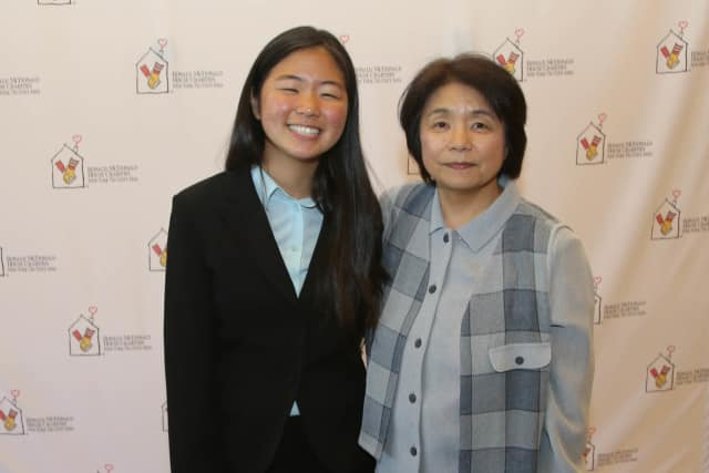 Soon Il Higashino, 18, of Ossining, recently received a $16,000 scholarship from Ronald McDonald House Charities.